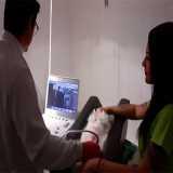 exame ultrassom abdominal veterinário Bela Cintra